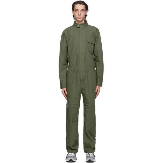 Photo: Engineered Garments Green Boiler Jumpsuit