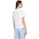 MCQ White Jersey Jack Branded T-Shirt