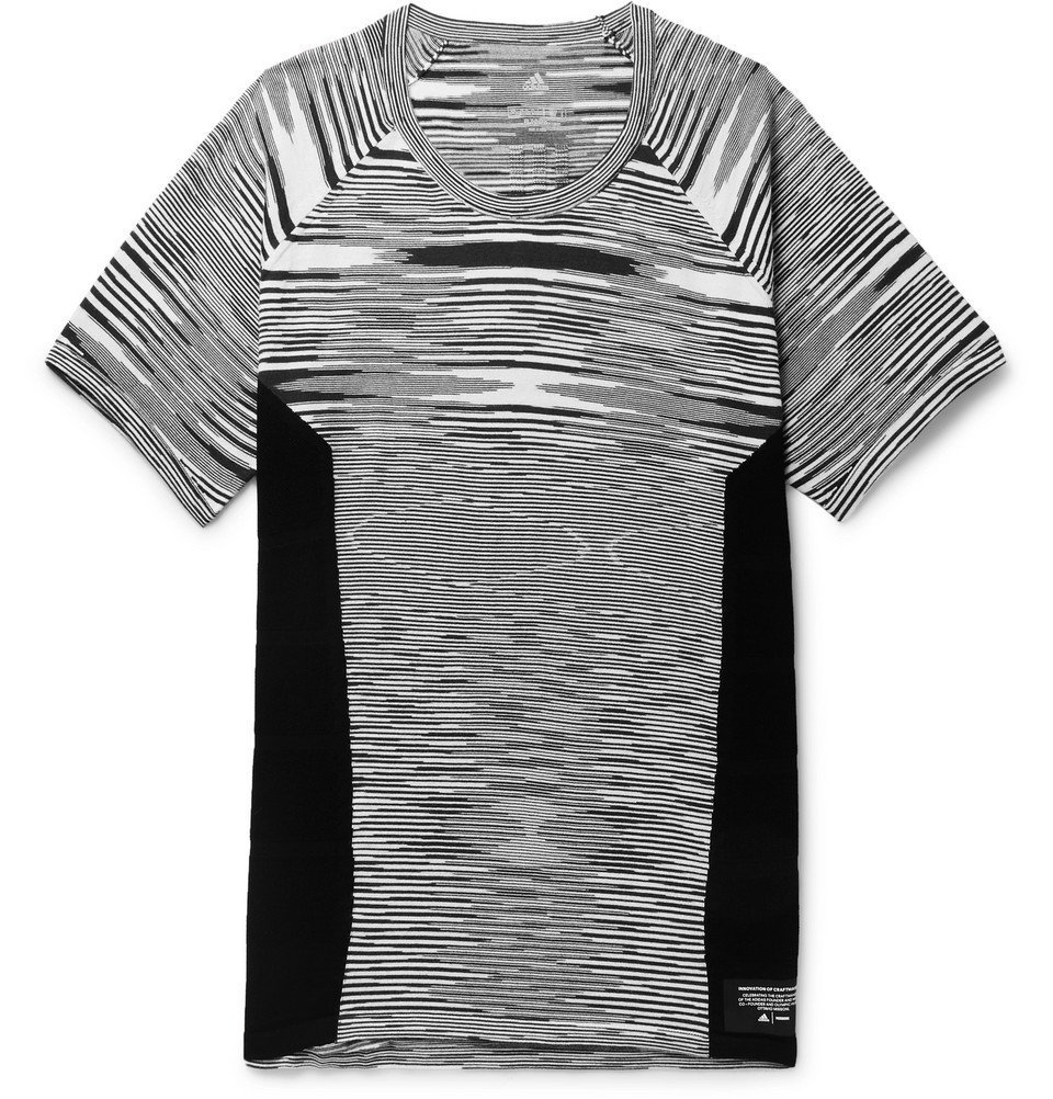 adidas Originals - Missoni Supernova Primeknit T-Shirt - Black