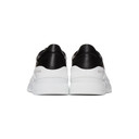 Common Projects Black and White Cross Trainer Sneakers