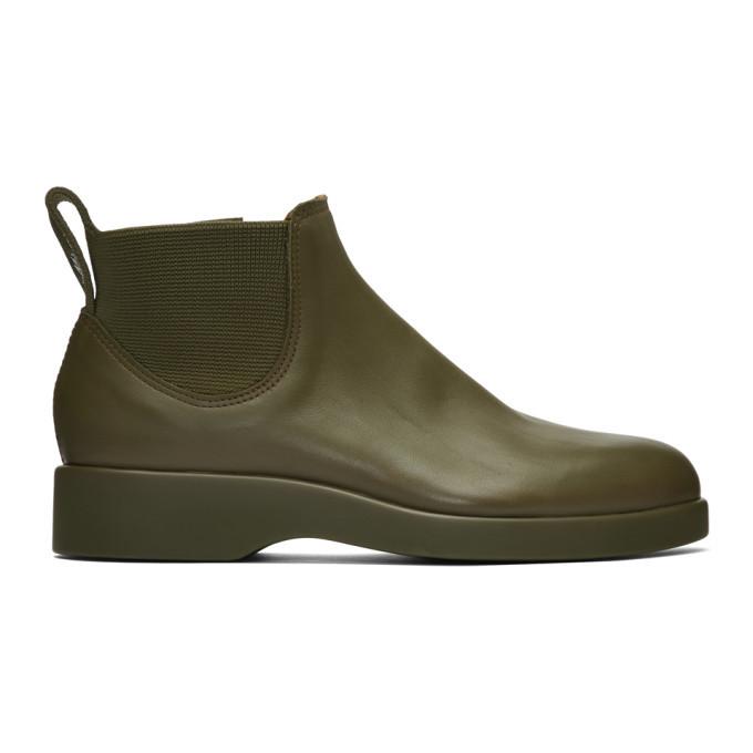 Photo: R.M. Williams Green Marc Newson Edition 365 Yard Boots