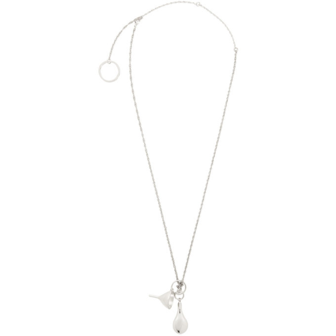 Photo: Lemaire Silver Small Perfume Bottle Necklace