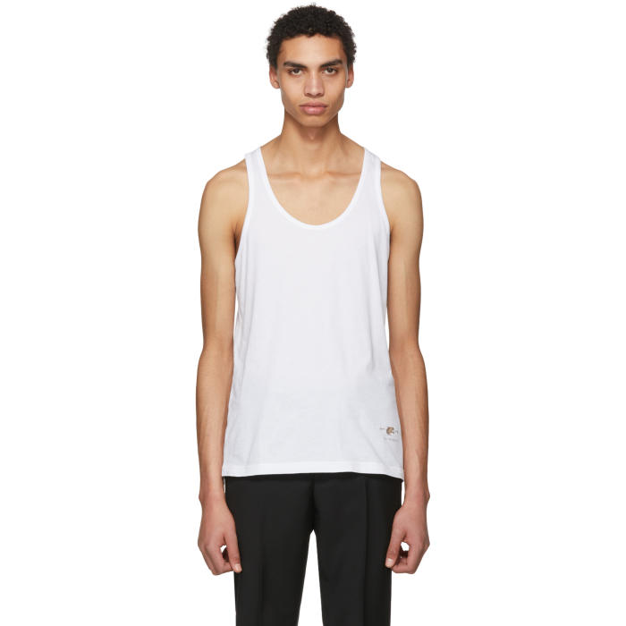 Photo: Givenchy White Cat Tank Top