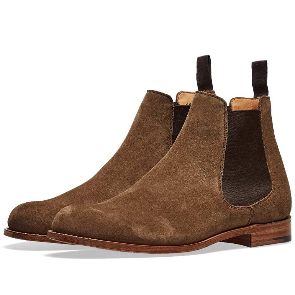 Photo: Church's Belford Suede Chelsea Boot
