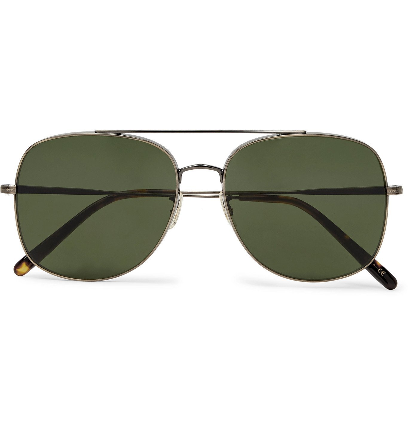 Oliver Peoples - Taron Aviator-Style Gold-Tone Sunglasses - Gold