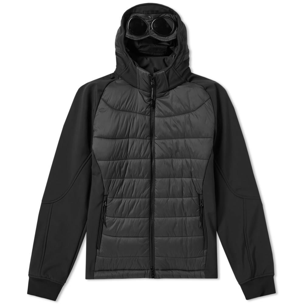 C.P. Company Hooded Soft Shell Padded Jacket