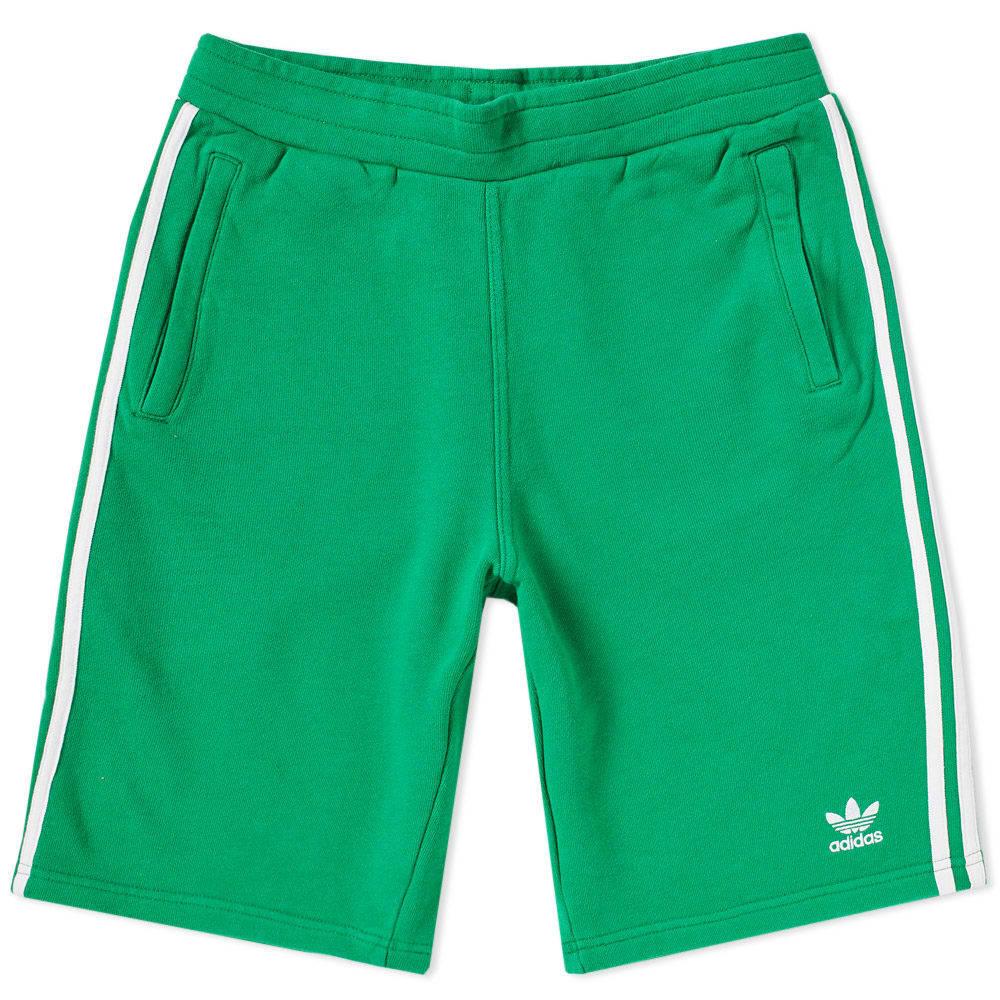 Adidas 3 Stripe Short Green