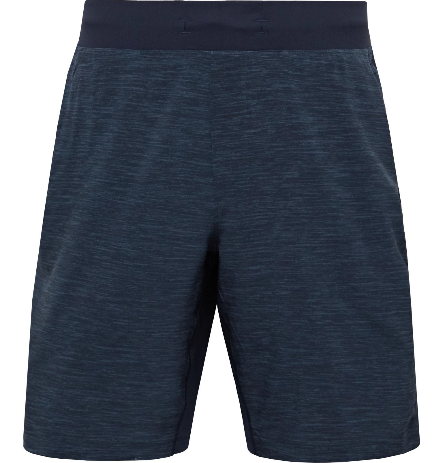 Photo: Lululemon - T.H.E. Mélange Swift Shorts - Blue