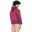 Aries Pink Ombre Dyed Windcheater Jacket