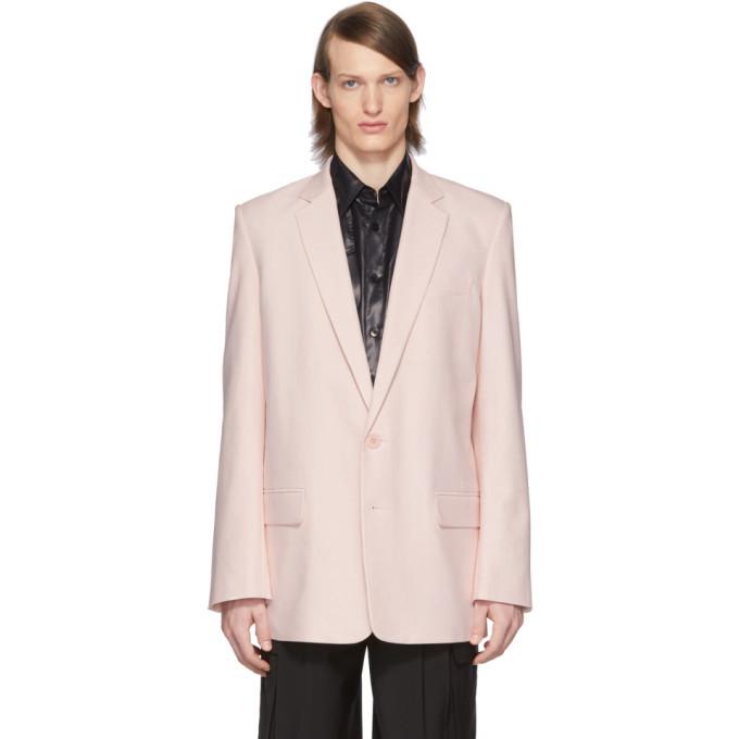 Photo: Tibi SSENSE Exclusive Pink Long Blazer