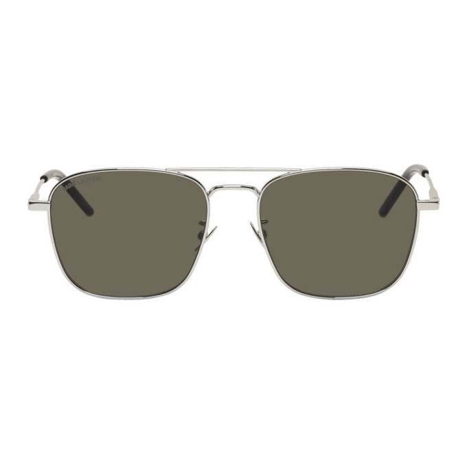 Photo: Saint Laurent Silver SL 309 Sunglasses