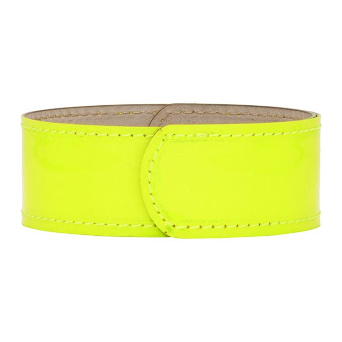 Photo: Lanvin Yellow Thin Neon Slap Bracelet