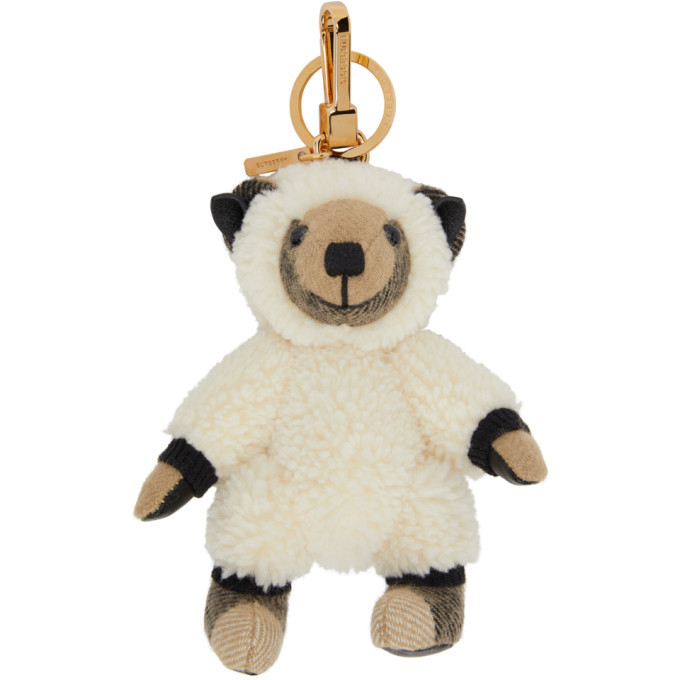 Photo: Burberry Beige Sheep Costume Thomas Keychain