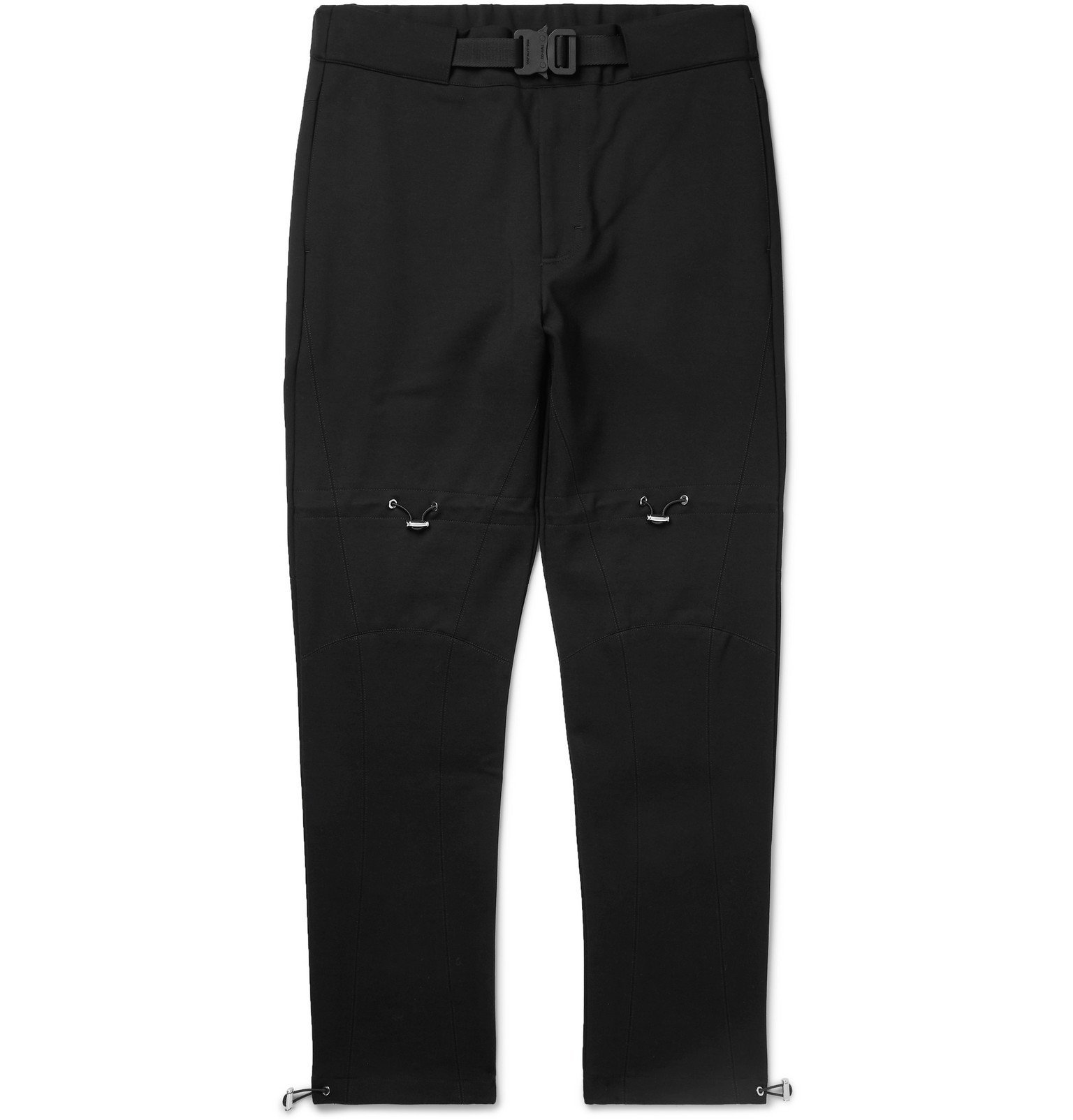 1017 ALYX 9SM - Tapered Tech-Jersey Trousers - Black