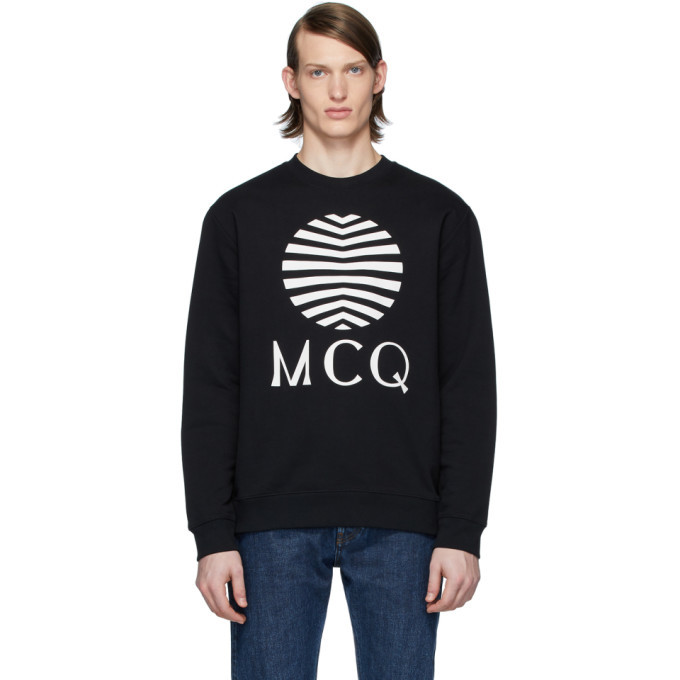 Photo: McQ Alexander McQueen Black Logo Sweatshirt