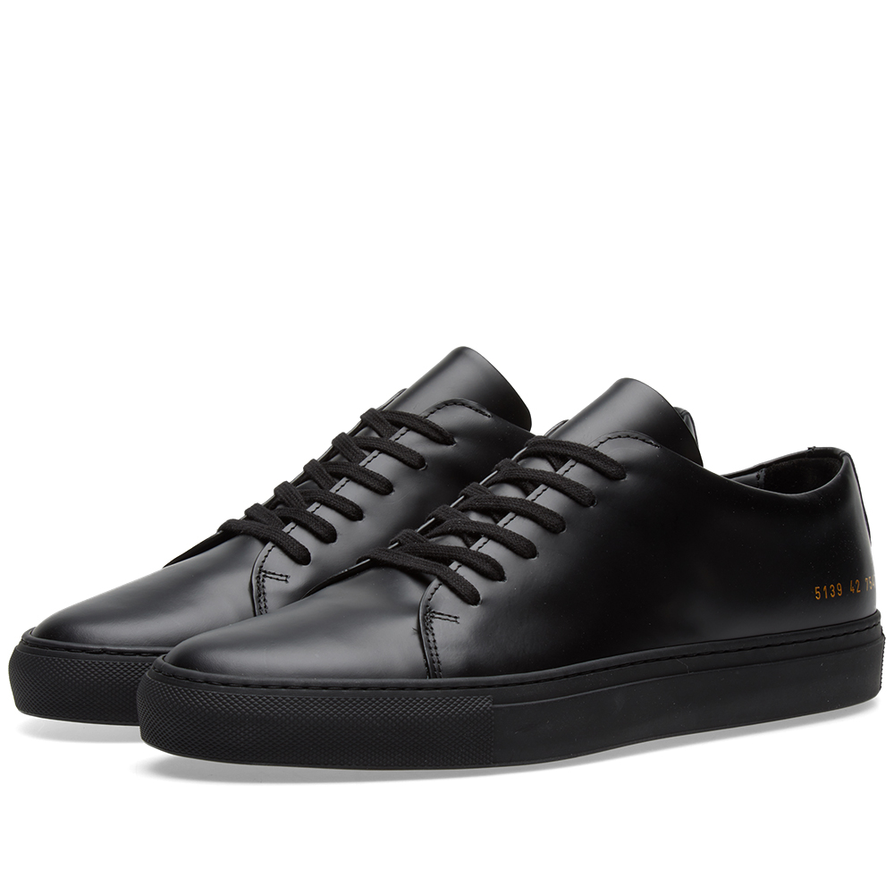 Common Projects Court Low Boxed Leather