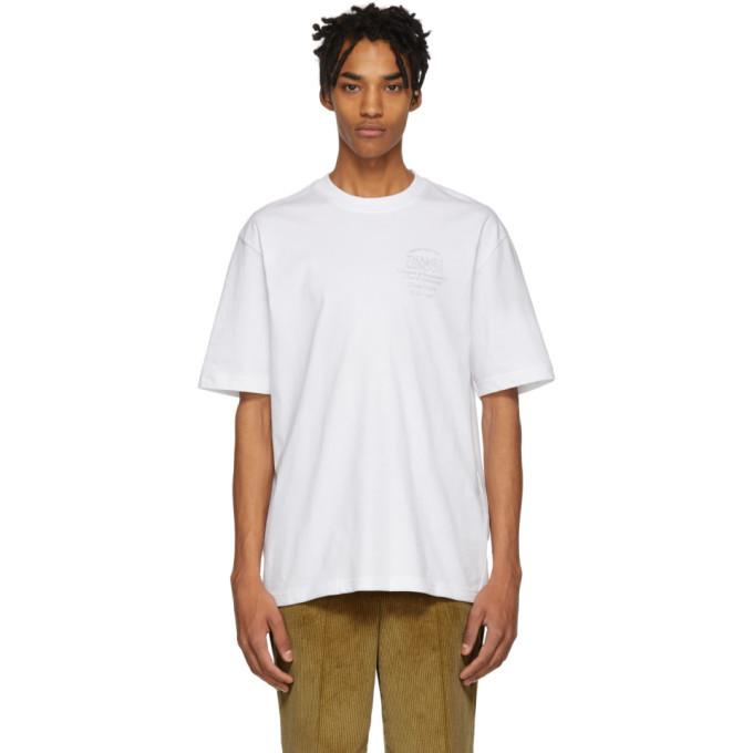 Photo: Thames White Plaque T-Shirt