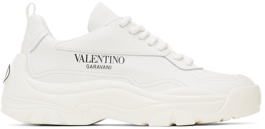 Photo: Valentino Garavani White Gumboy Sneakers