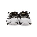 Raf Simons Black and White adidas Originals Edition Ozweego Replicant Sneakers