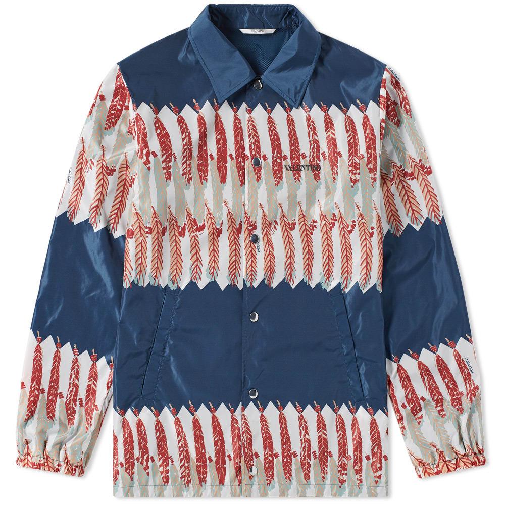Photo: Valentino Zandra Rhodes Print Coach Jacket