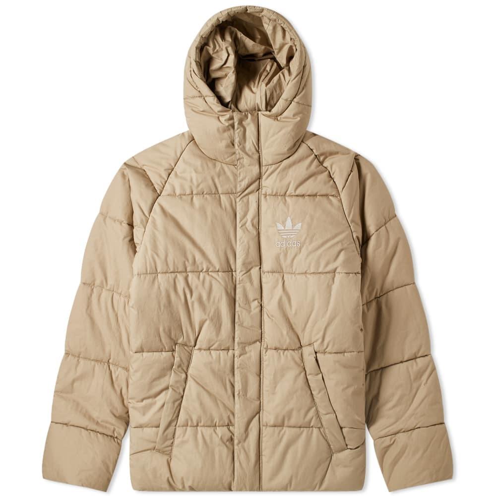 Photo: Adidas Superstar Down Jacket Cargo Khaki