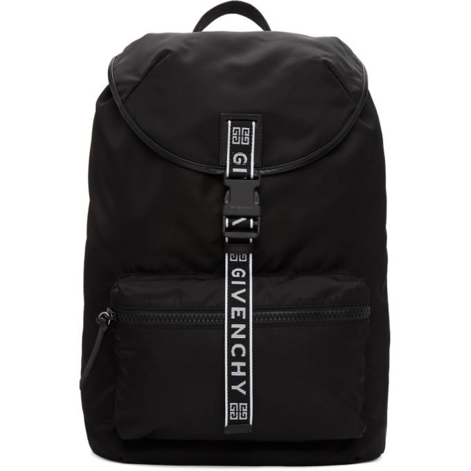 Photo: Givenchy Black 4G Light 3 Backpack