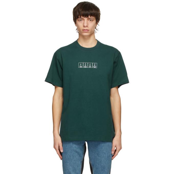 Photo: VETEMENTS Green Chemical Logo T-Shirt