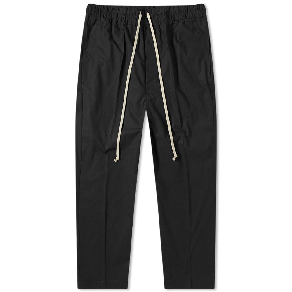 Photo: Rick Owens Drawstring Poplin Astaires Cropped Pant