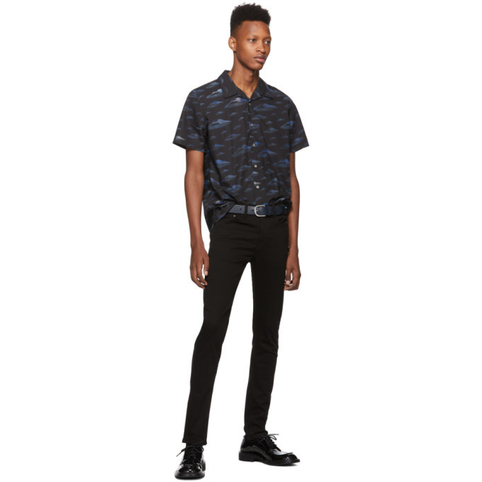 PS by Paul Smith Blue Spaceships Shirt