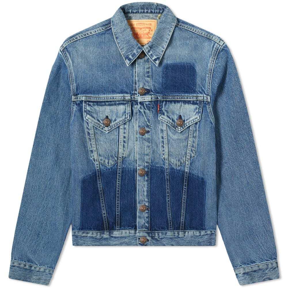 Photo: Levi's Vintage Clothing 1961 Type III Panel Washed Denim Jacket