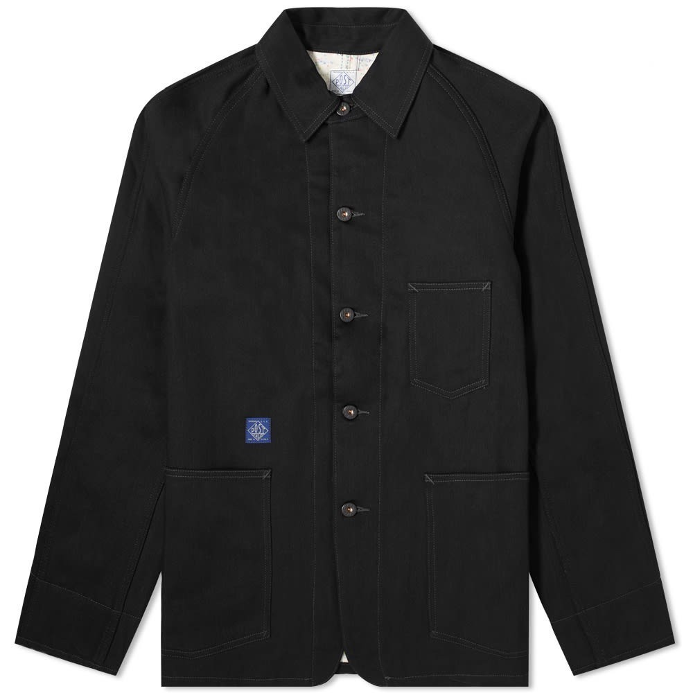 Photo: Post Overalls Lined 41-R Railroad Jacket