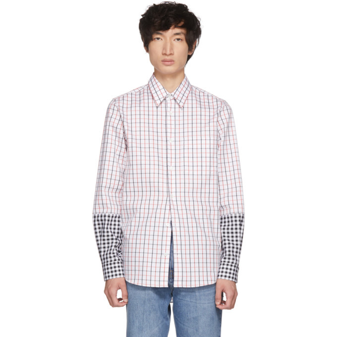 Photo: Stella McCartney White Ryder Contrast Pattern Shirt