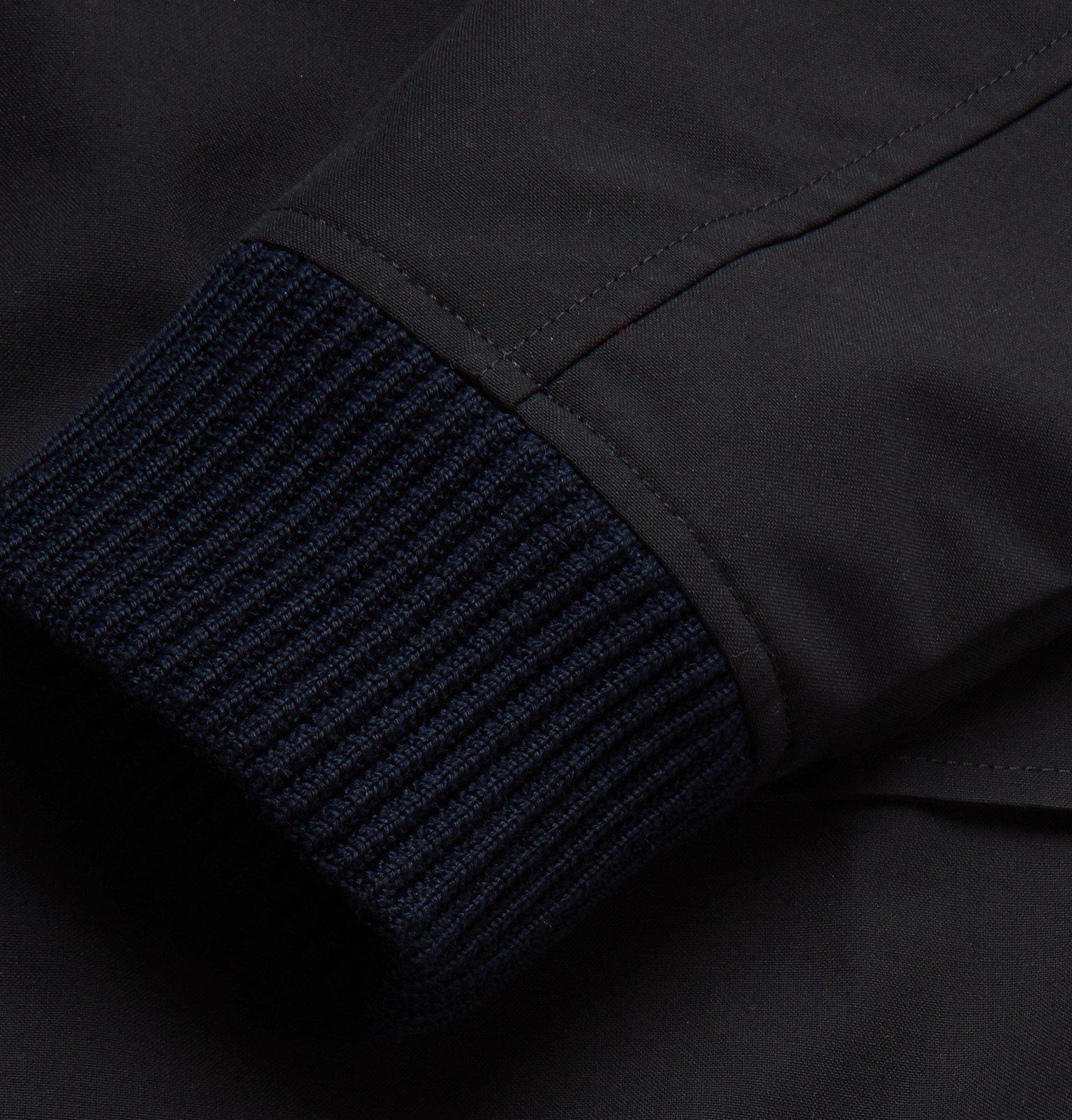Officine Generale - Achille Shell Bomber Jacket - Blue