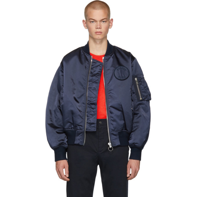 Photo: Etudes Navy Horizon Bomber Jacket