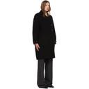 3.1 Phillip Lim Black Merino Woolmark Coat