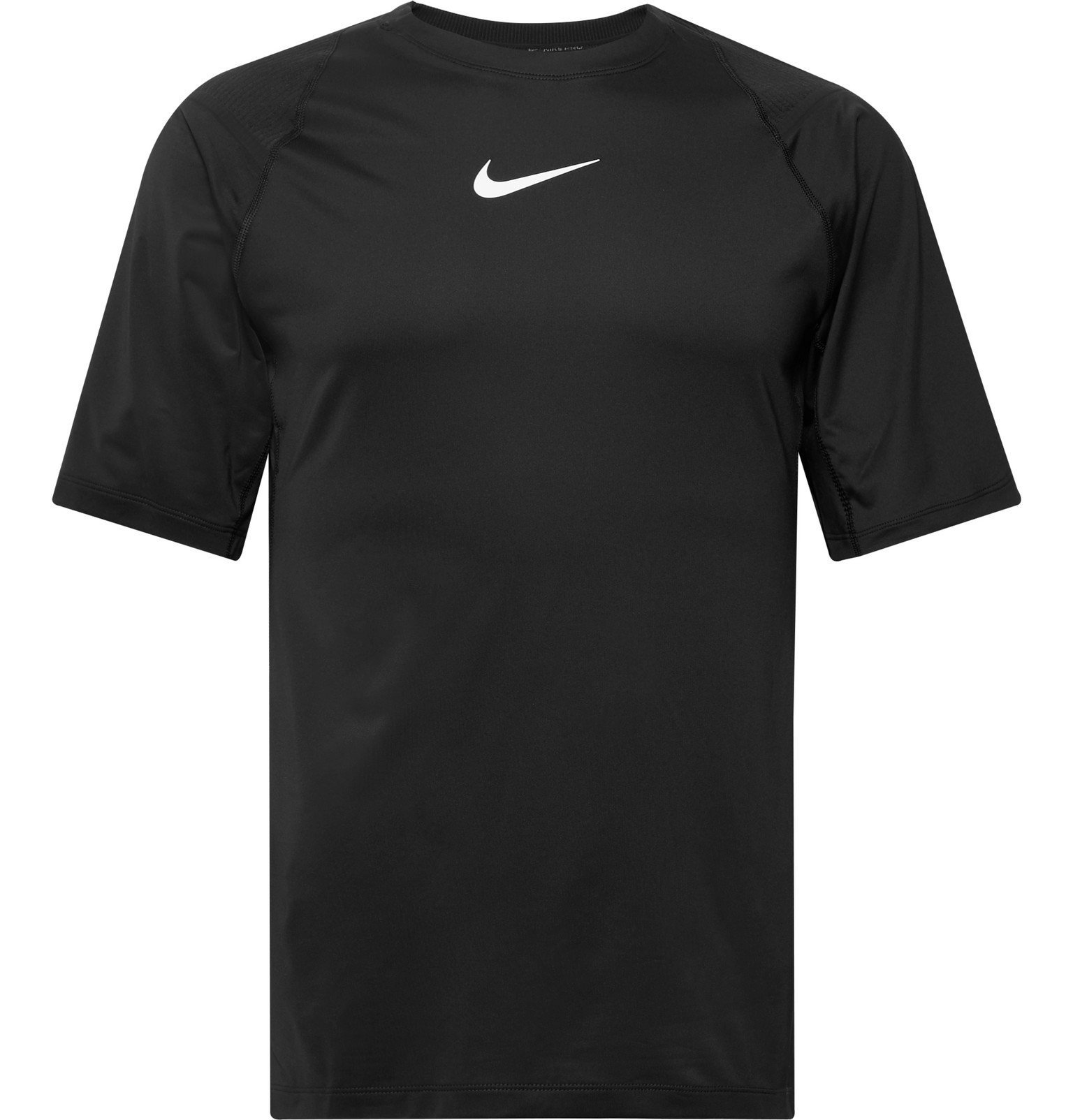 Photo: Nike Training - Pro AeroAdapt Logo-Print Dri-FIT T-Shirt - Black