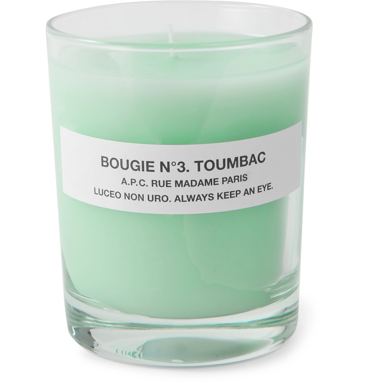 Photo: A.P.C. - No 6 Encens Scented Candle, 150g - Green