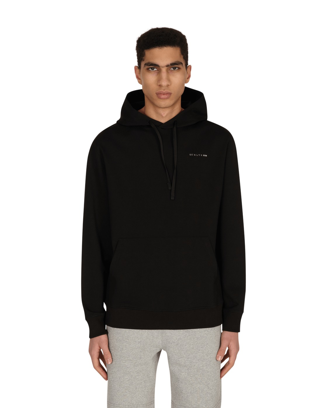 Photo: 1017 Alyx 9sm Logo Hooded Sweatshirt Black