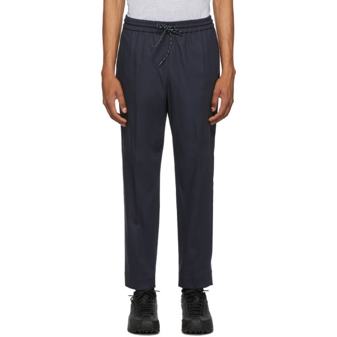 Photo: Kenzo Navy Tapered Trousers