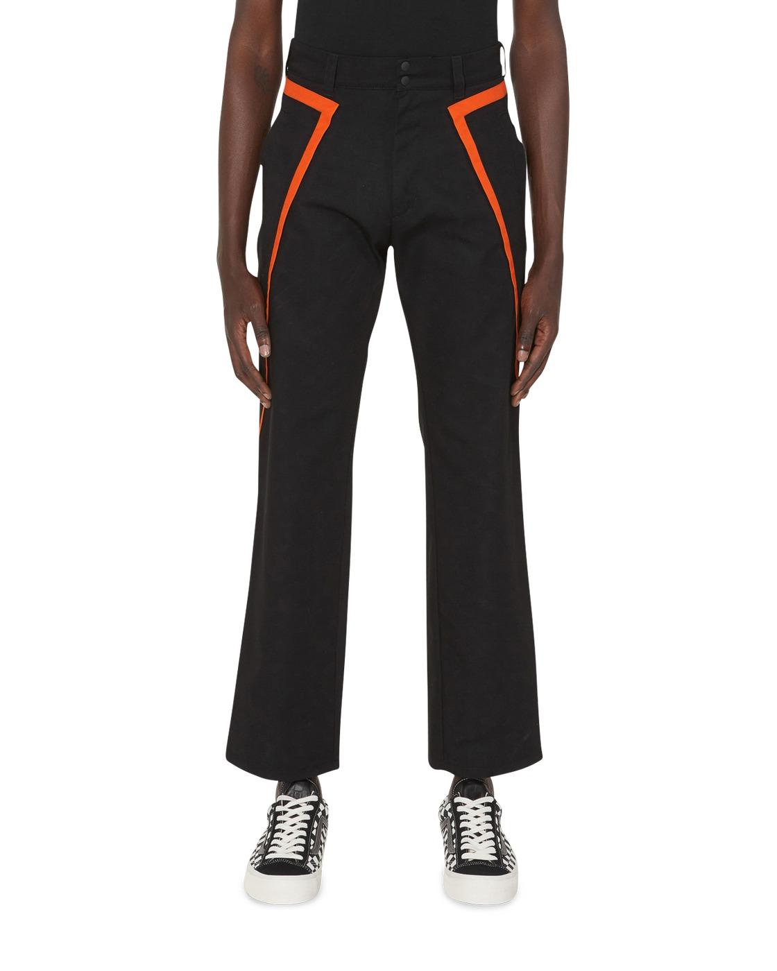 Photo: Affix Public Service Pant Black/Safety Orange