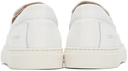 Common Projects White Canvas Slip-On Sneakers