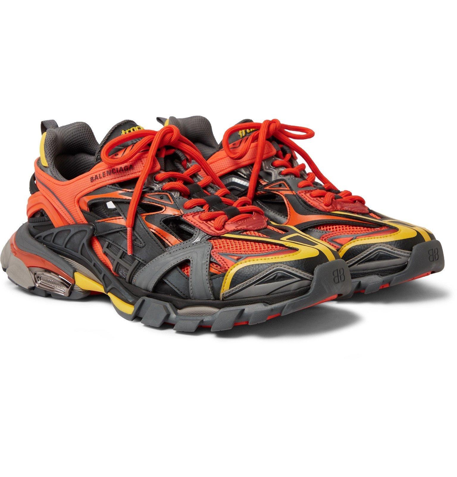 Rubber Sneakers - Orange Balenciaga