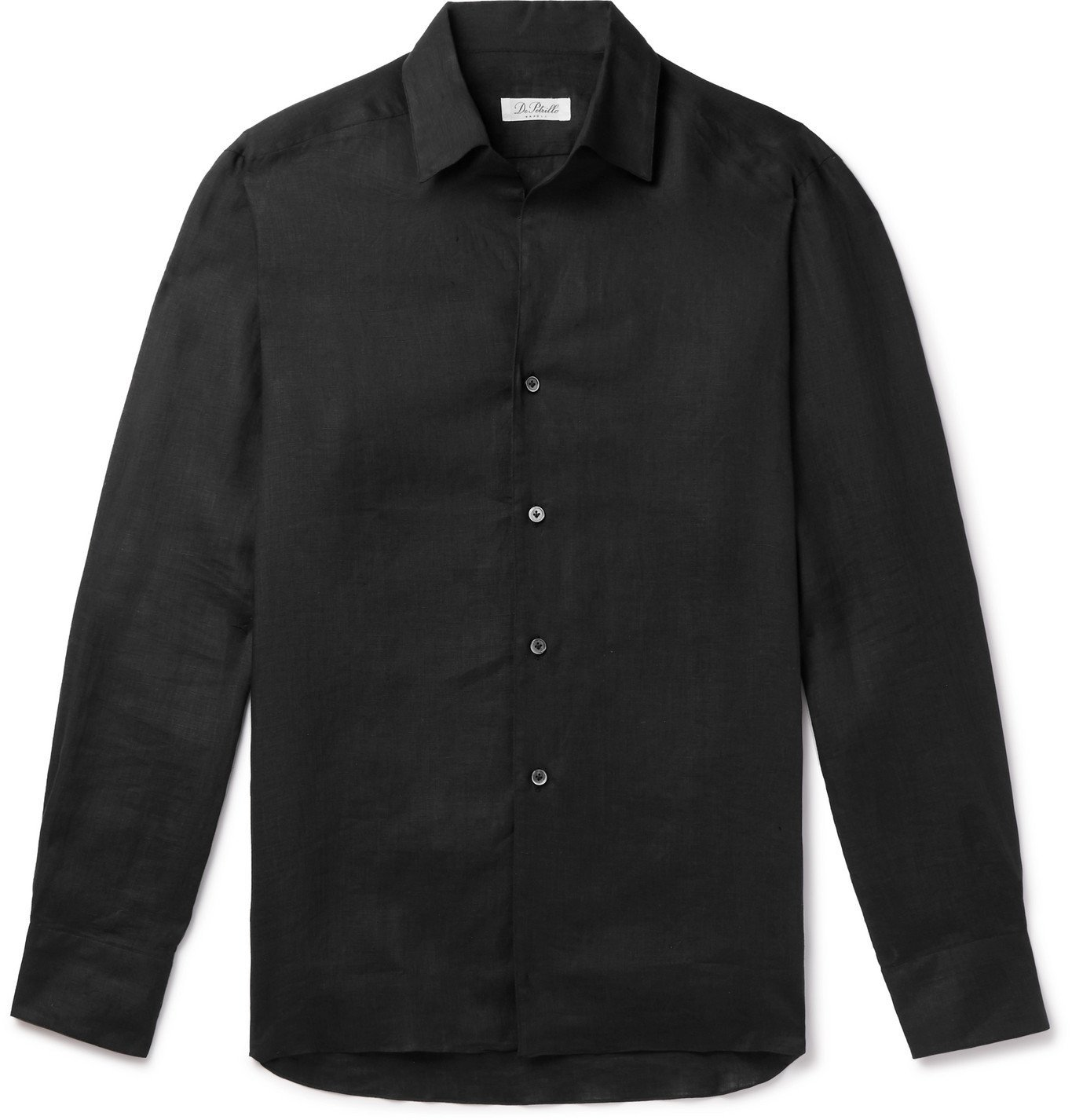 Photo: De Petrillo - Linen Shirt - Black