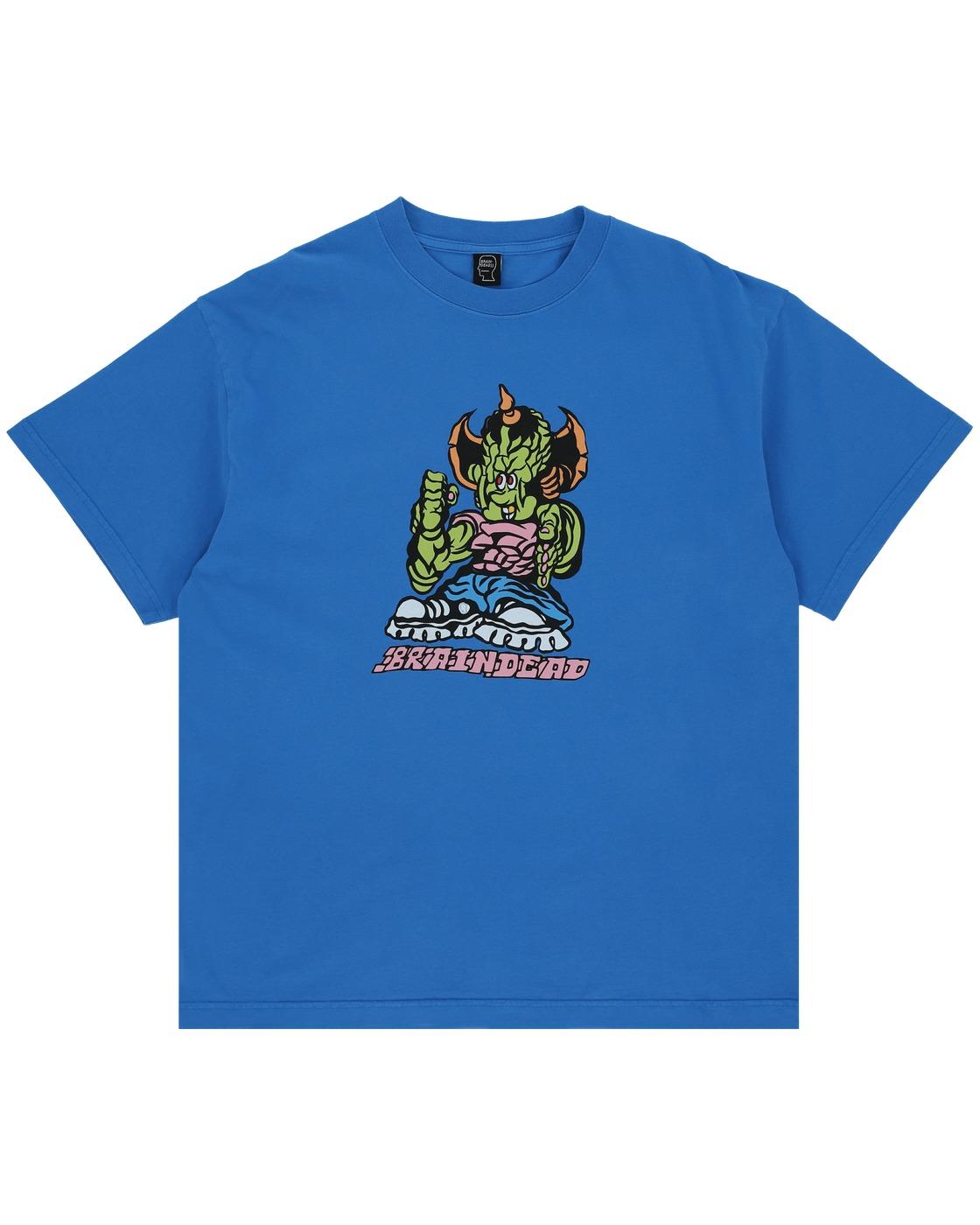 Photo: Brain Dead Small Fry T Shirt China Blue