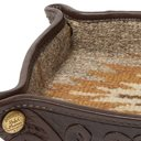 RRL - Embossed Leather Tray - Brown