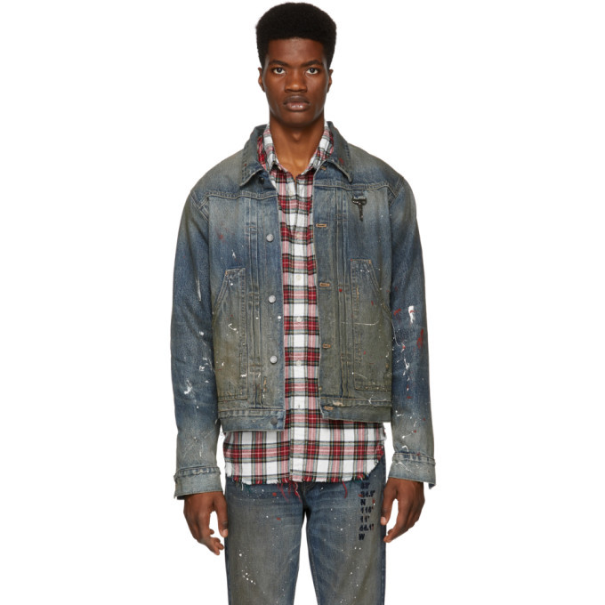 Photo: Reese Cooper Blue Coordinate Denim Jacket
