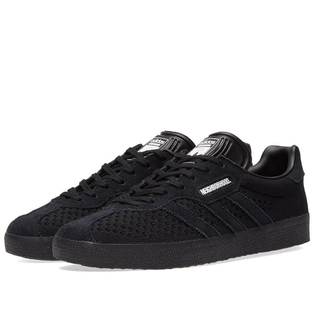 Adidas x NBHD Gazelle Super Black