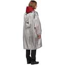 Raf Simons Grey Metallic Raincoat
