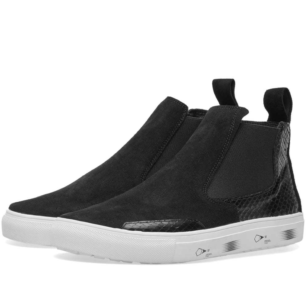 Photo: Stone Island Shadow Project x Diemme Slip On Sneaker Boot
