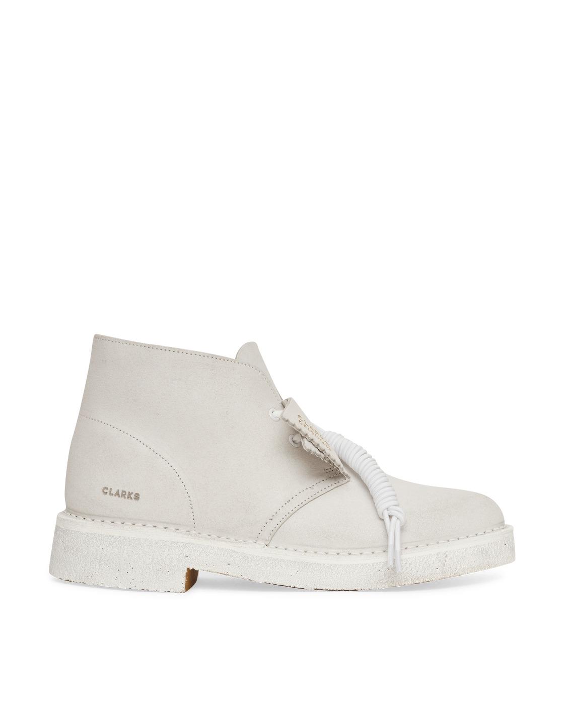 Photo: Clarks Originals Desert 221 Boots White/White